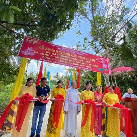 DGTần Nguyễn Cắt  Băng  Khánh Thành  Cầu