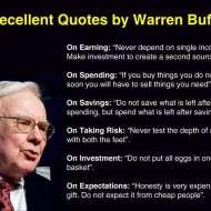Lời Khuyên Của Warren Buffett Dành Cho Sinh Viên Và Giới Trẻ